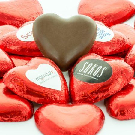 Sjokoladehjerter